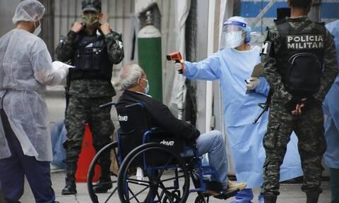 Κορονοϊός στην Ονδούρα: Σε κέντρο διαλογής ασθενών μετατράπηκε η έδρα της προεδρίας