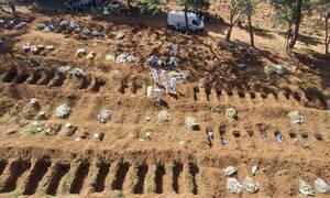 Κορονοϊός στη Βραζιλία: 733 θάνατοι και 20.286 νέα κρούσματα μόλυνσης σε 24 ώρες