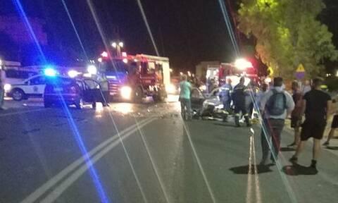 Κρήτη: Τροχαίο με ένα νεκρό σε δρόμο του Ηρακλείου
