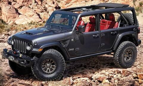 Η Jeep παρουσίασε οχτακύλινδρο πρωτότυπο του Wrangler