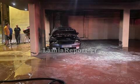 Επίθεση σε πρώην αρχιφύλακα των φυλακών Δομοκού: Έκαψαν το αυτοκίνητό του