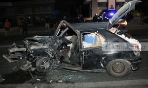 Ηράκλειο: Τραγωδία στην άσφαλτο - Ένας νεκρός σε φρικτό τροχαίο (pics)