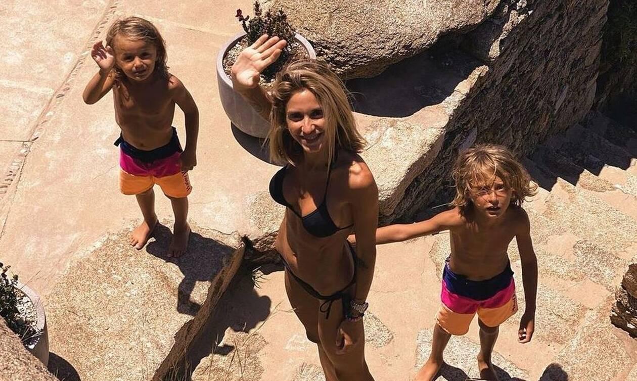Σοφία Καρβέλα: Οι γιοι της δεν έχουν ταμπλετ στις διακοπές-Δείτε τι έκαναν