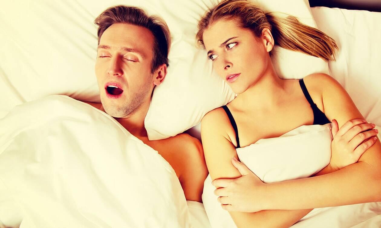 Σεξ ή ύπνος: Δείτε τι προτιμάνε οι άντρες;