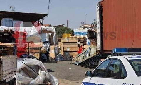 Κύπρος: Τραγωδία στη Λεμεσό - 65χρονος καταπλακώθηκε από ξύλα (pics+vid)