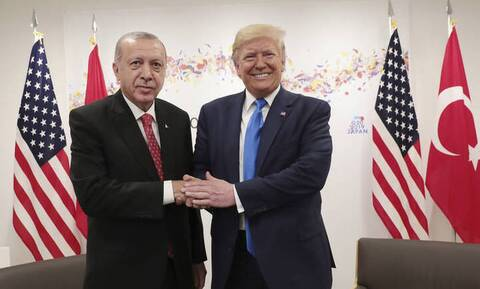 Τηλεφωνική επικοινωνία Τραμπ - Ερντογάν: Καμία αναφορά στην Αγιά Σοφιά