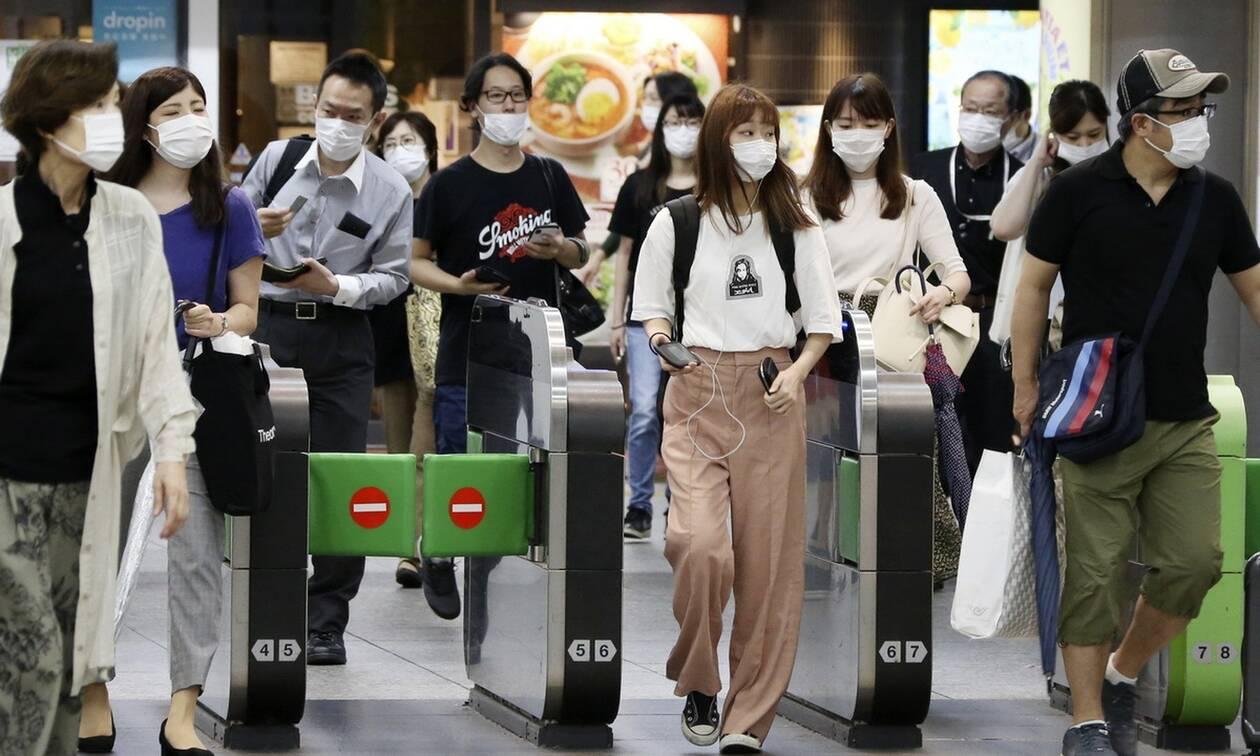 Κορονοϊός - Έξαρση στην Ιαπωνία: Στην υψηλότερη κλίμακα συναγερμού το Τόκιο