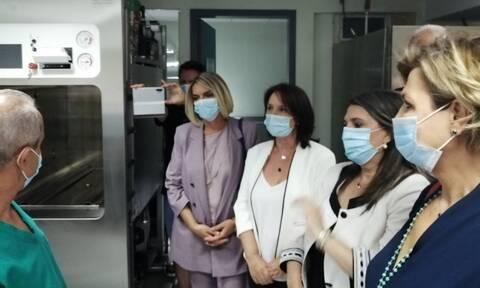 Νοσοκομείο Καστοριάς: Δωρεά μηχανημάτων από την Κ.Ο του ΣΥΡΙΖΑ