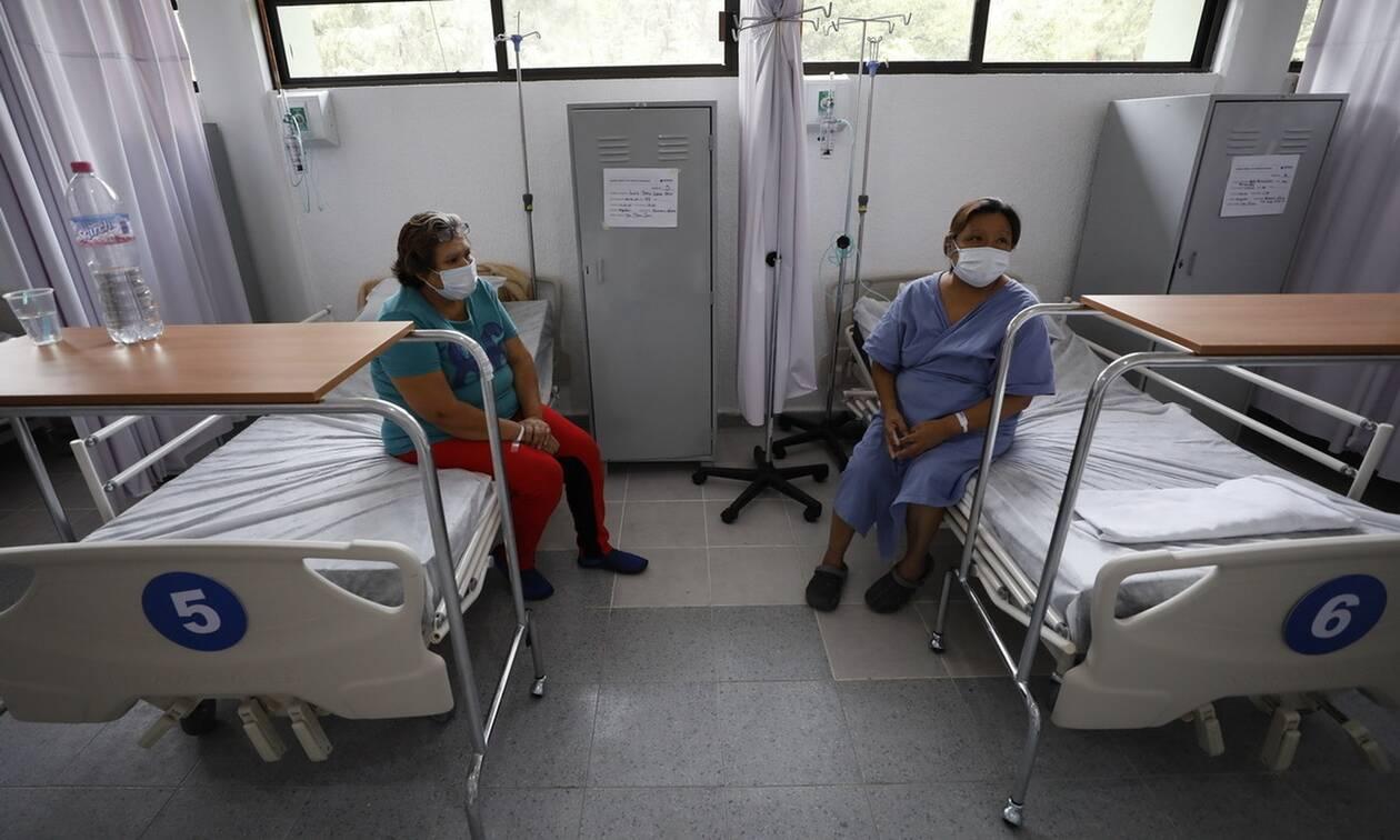 Κορονοϊός στο Μεξικό: 579 θάνατοι και  6.149 νέα κρούσματα σε 24 ώρες
