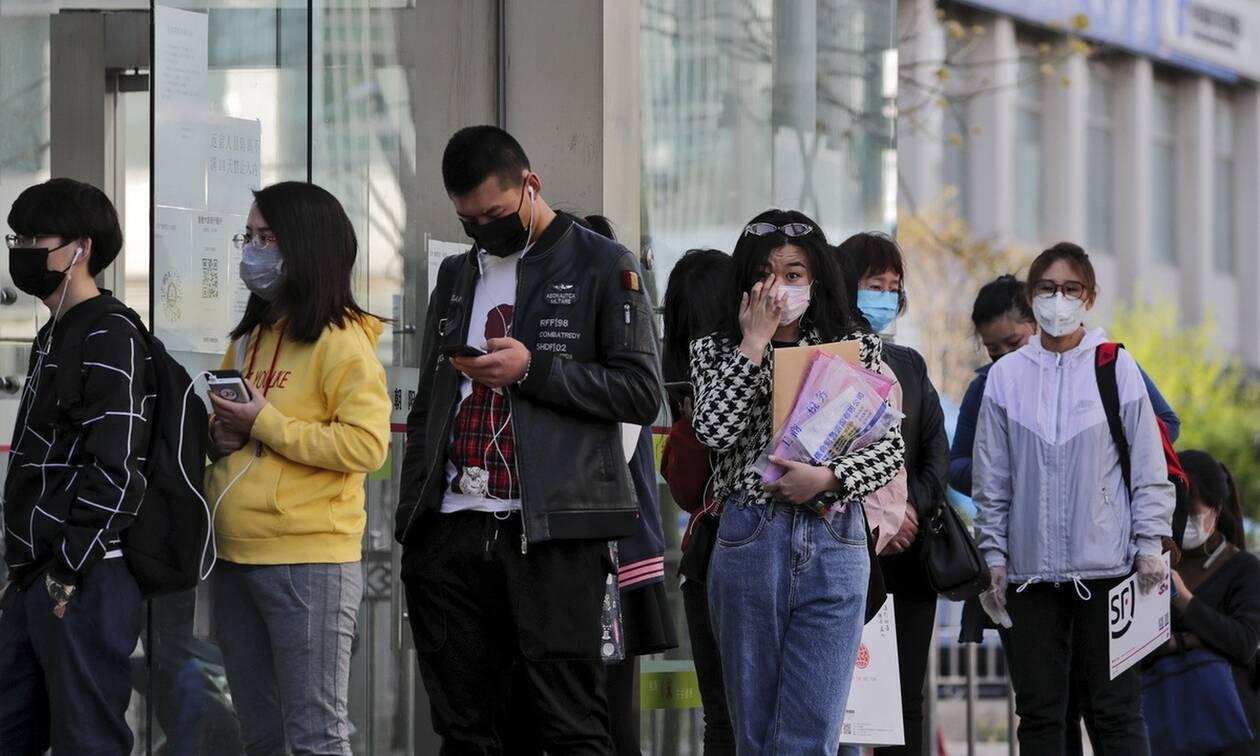 Κορονοϊός στην Κίνα: Μόλις ένα «εισαγόμενο» κρούσμα μόλυνσης από σε 24 ώρες