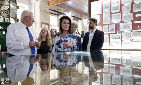 Την Κρήτη επισκέφθηκε η πρόεδρος της επιτροπής «Ελλάδα 2021» κα Γιάννα Αγγελοπούλου-Δασκαλάκη