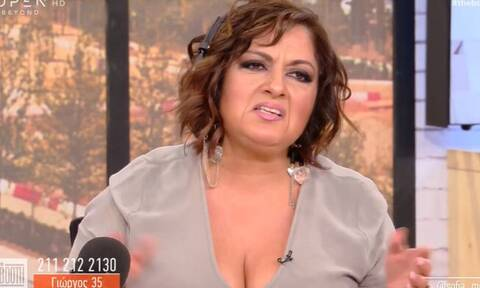 Πολύ γέλιο με Μουτίδου on air: Πήρε ο νυν και εκείνη νόμιζε ότι ήταν ο πρώην!