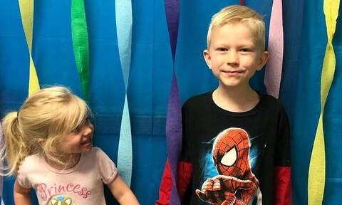 Ο «Captain America» στέλνει την ασπίδα του στον 6χρονο που εσωσε την αδελφή του από επίθεση σκύλου