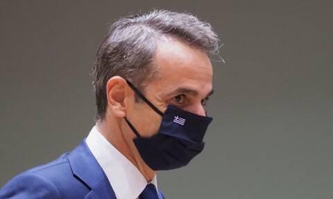 Με μάσκα του Παναθηναϊκού στη Σύνοδο Κορυφής! (photos)