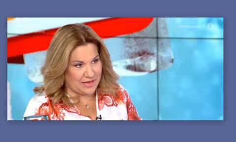 Απίθανο σκηνικό «στον αέρα» του MEGA: Η Μοιραράκη μιλούσε όταν ξαφνικά…