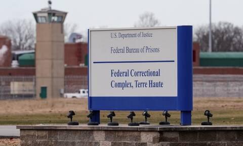 ΗΠΑ: Τρίτη ομοσπονδιακή εκτέλεση θανατοποινίτη σε μια εβδομάδα