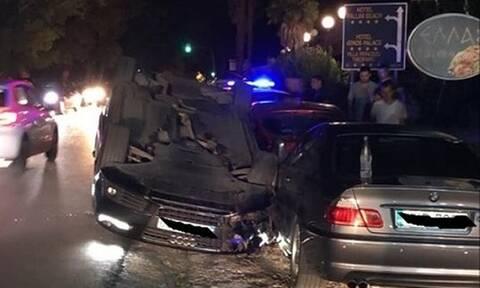 Χαλκιδική: Τροχαίο με ανατροπή στην Καλλιθέα - Ένας τραυματίας