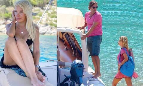 Μενεγάκη-Παντζόπουλος: Έχετε δει το σκάφος τους; (photos)
