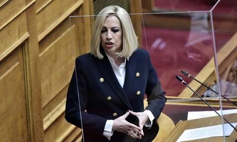 Γεννηματά: Η Τουρκία δεν καταλαβαίνει από δηλώσεις αλλά από κυρώσεις