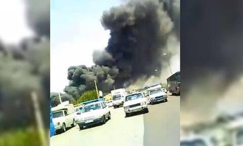 Ιράν: Πυρκαγιά σε εργοστάσιο