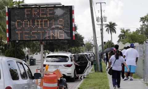 Κορονοϊός - Φλόριντα: Πάνω από 10.000 κρούσματα για πέμπτη συνεχόμενη μέρα