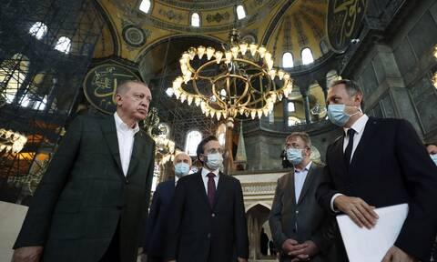 Αγία Σοφία: Ο Ερντογάν μετρά αντίστροφα για την πρώτη προσευχή - Τι θα γίνει με τις αγιογραφίες