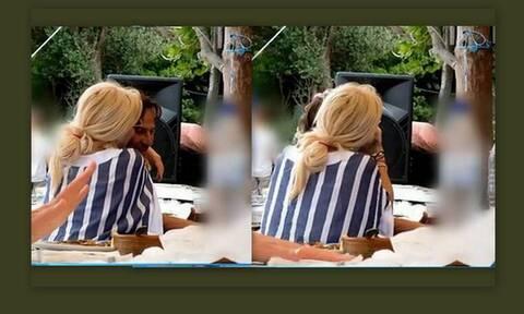 Παντζόπουλος: Η ρομαντική φώτο του με την Μενεγάκη στην Άνδρο