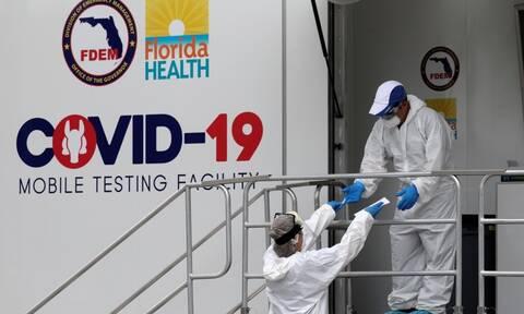 Κορονοϊός: Ρεκόρ εισαγωγών στα νοσοκομεία του Λος Άντζελες