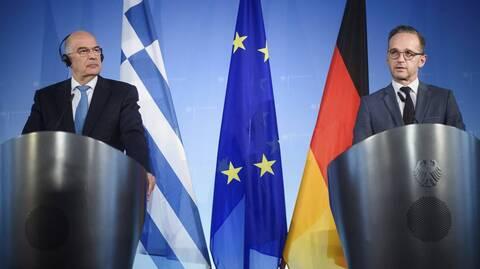 Στην Αθήνα ο Γερμανός ΥΠΕΞ - Θα συναντηθεί με τον Δένδια