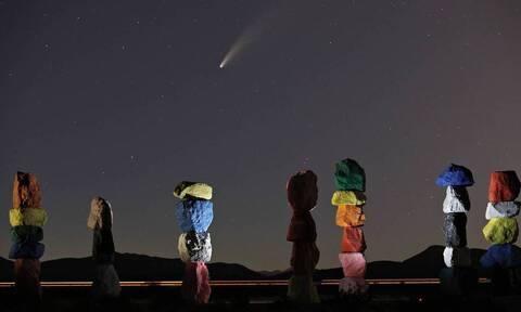 Κομήτης NEOWISE: Ορατός και από την Ελλάδα - Δείτε τις φωτογραφίες