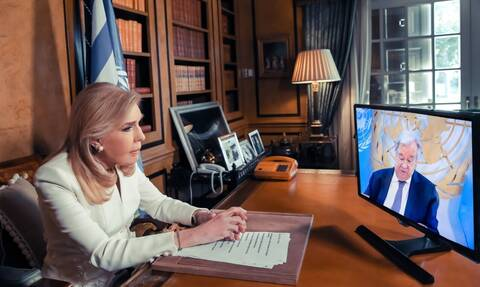 Μαριάννα Βαρδινογιάννη: Απονομή του βραβείου «Nelson Mandela 2020» από τη Γενική Συνέλευση του ΟΗΕ