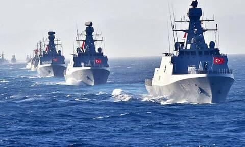 Δραματικές εξελίξεις στο Αιγαίο: 17 τουρκικά πλοία μεταξύ Ρόδου και Καστελόριζου