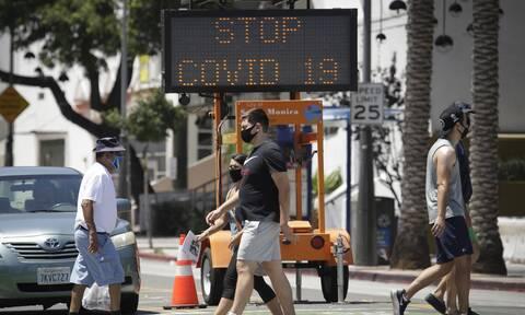 Κορονοϊός - Καλιφόρνια: Πλησιάζουν το μισό εκατομμύριο τα κρούσματα