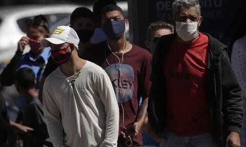 Κορονοϊός - Βραζιλία: 1.367 θάνατοι εξαιτίας της COVID-19 και 41.008 κρούσματα σε 24 ώρες