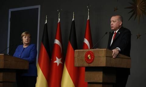 Επικοινωνία Ερντογάν - Μέρκελ - Τι συζήτησαν