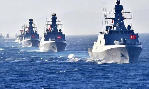 «Κόκκινος συναγερμός» ΤΩΡΑ: Οι Τούρκοι έχουν «απλωθεί» στο Αιγαίο - Σε επιφυλακή το Πολεμικό Ναυτικό