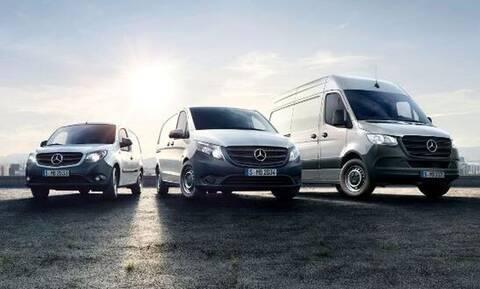 H νέα έκδοση Mercedes-Benz Vans Pro δημιουργήθηκε ειδικά για τις ανάγκες των Ελλήνων επαγγελματιών