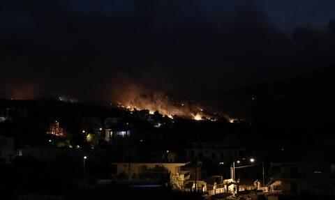 Φωτιά Κεχριές: Εκκενώνεται το μοναστήρι της Φανερωμένης Χιλιομοδίου