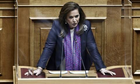 Βουλή - Ντ. Μπακογιάννη: «Εσύ ΣΥΡΙΖΑ καημένε, που ξεχνάς τον Ωρωπό!»