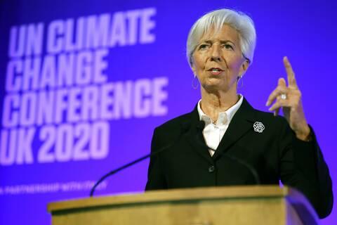 ΕΚΤ: Η Κριστίν Λαγκάρντ εξαίρει τη διαχείριση της κρίσης του κορονοϊού από γυναίκες ηγέτιδες