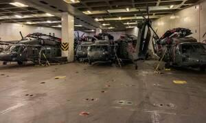 Εντυπωσιακές εικόνες: Η απόβαση των αμερικανικών Ενόπλων Δυνάμεων στην Αλεξανδρούπολη