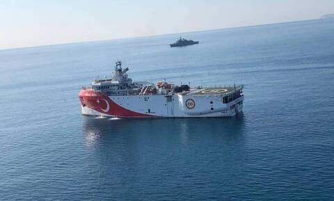 «Συναγερμός» στο Αιγαίο: Σε δύο ομάδες τα τουρκικά πλοία - Πότε ξεκινά για τη Μεσόγειο το Oruc Reis
