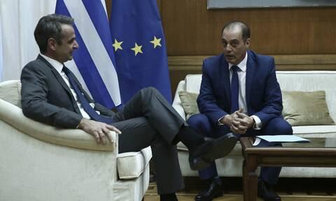 Ολοκληρώθηκε η συνάντηση του πρωθυπουργού με τον πρόεδρο της Ελληνικής Λύσης