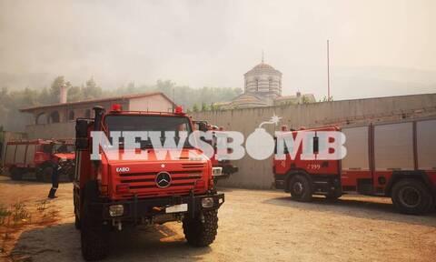 Φωτιά - Κεχριές: Θρίλερ με την εκκένωση του Σοφικού - Σε κατάσταση έκτακτης ανάγκης η αν. Κορινθία