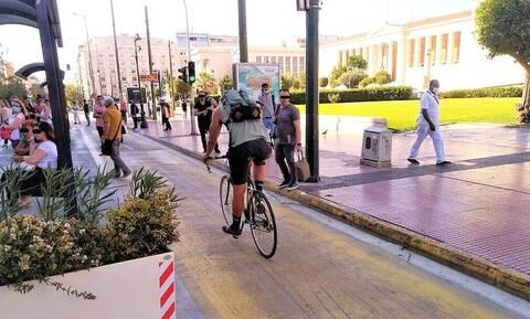Μεγάλος Περίπατος: Δείτε τι έζησε ένας ποδηλάτης! (pics)