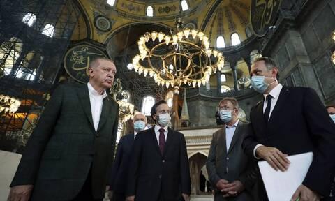 Αγία Σοφία: Αιωνία η ντροπή του Ερντογάν