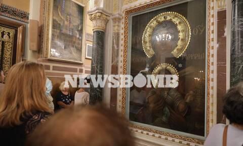 Αγία Σοφία: Ο Αρχιεπίσκοπος τελεί τον Ακάθιστο Ύμνο στη Μητρόπολη Αθηνών - LIVE ΕΙΚΟΝΑ