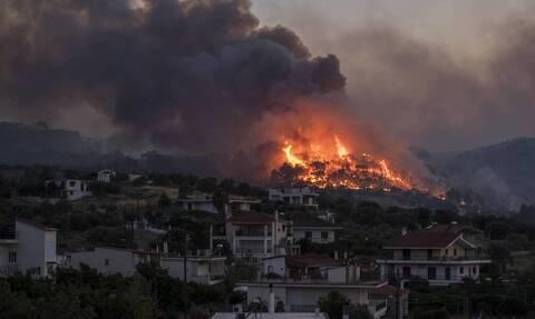Φωτιά: Σε κατάσταση Έκτακτης Ανάγκης 5 κοινότητες του Δήμου Κορινθίων