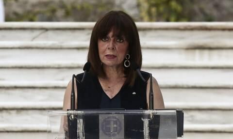Ηχηρό μήνυμα Σακελλαροπούλου: Θα προασπίσουμε τα κυριαρχικά μας δικαιώματα