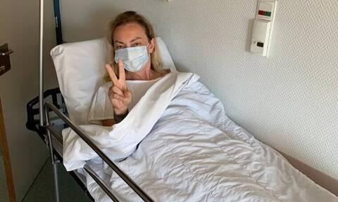 Ρέβη: Συγκλονίζει το μήνυμά της από το νοσοκομείο: «Φοβήθηκα, αγχώθηκα»